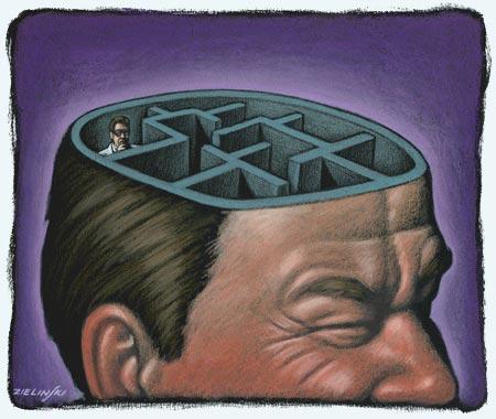 funciones del cerebro humano. cerebro humano que